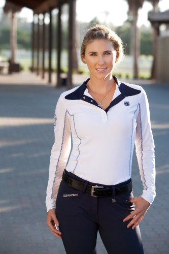 Review Romfh Ladies Competitor LS Show Shirt S White