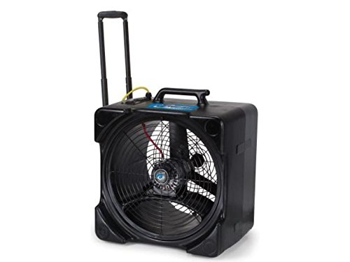 Powr-Flite PDF5DX F5 Axial Fan/Air Mover with Handle and Wheels
