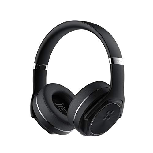 TeaBoy Over Ear Headphone, Wireless Wired Premium Stereo Sound Headsets, Foldable Comfortable Headphones with Mic with Protein Earmuffs and Shareport Headset for Recording Monitoring Podcast PC TV