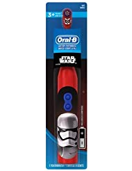 Oral-B Kids Battery Powered Electric Toothbrush Featuring Disney STAR WARS with Extra Soft Bristles, for Children and Toddlers age 3+