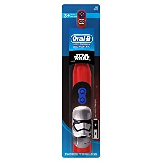 Oral-B Kids Battery Powered Electric Toothbrush Featuring Disney STAR WARS with Extra Soft Bristles, for Children and Toddlers age 3+ (B00U6SAZN8)   Amazon price tracker / tracking, Amazon price history charts, Amazon price watches, Amazon price drop alerts