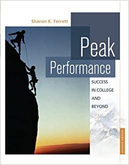 Peak Performance: Success in College and Beyond by Sharon Ferrett (2009-01-12)