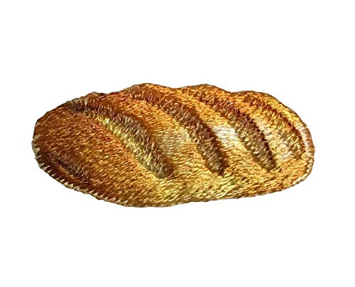 Loaf of Bread - French Baguette - Food - Iron on Applique/Embroidered Patch ()