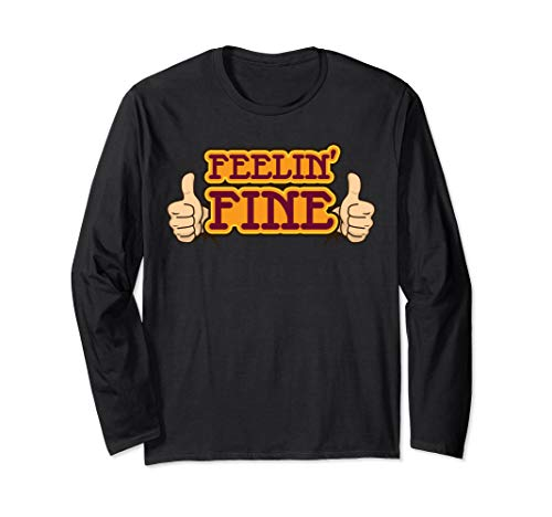 'Groovy Feeling Fine 70s Retro' Awesome 70s Vintage Shirt