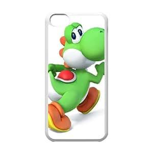 caso 5c Super Smash Bros Yoshi funda iPhone F1X27T3VJ funda 0BMN1K blanco