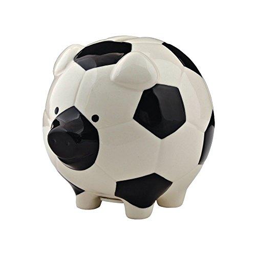 Enesco Soccer Piggy Bank
