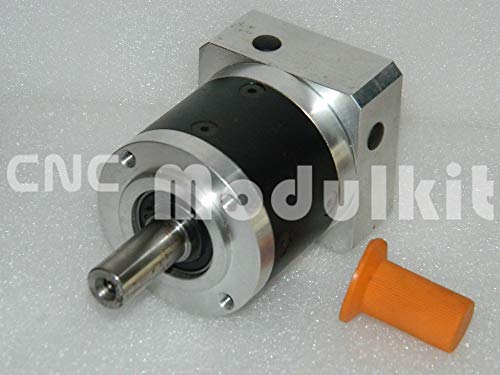 Fevas New Planetary Gearbox PL60 Ratio 5:1 High Precision & Quality Match for 60mm AC Servo Motor Stock Goods from CNC Modulkit ()
