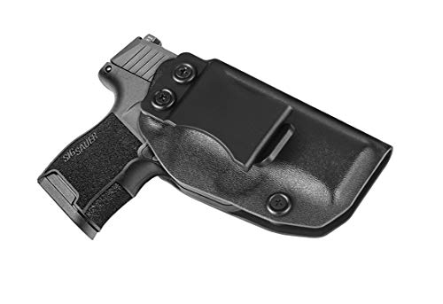 Bedone Sig P365 IWB Holster,Custom Molded Fit Sig Sauer P365, Concealed Carry, Inside The Waistband Super Light Carry Kydex Holster - Adjustable Cant -Level II Security, Right Handed (Ruger Lcp Custom Best Price)