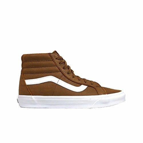 8478ef388fdd71 Galleon - Vans Mens Sk8-Hi Reissue Premium Leather Hi Top Fashion Shoes  Sneakers (14.5 B(M) US Women   13 D(M) US Men)