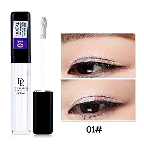 Makeup Long Lasting Waterproof Pigments Eyeshadow Glitter Make Up Eye Shadow Liquid Shimmer Stickers