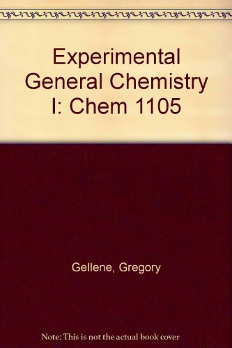 Experimental General Chemistry I: CHEM 1105