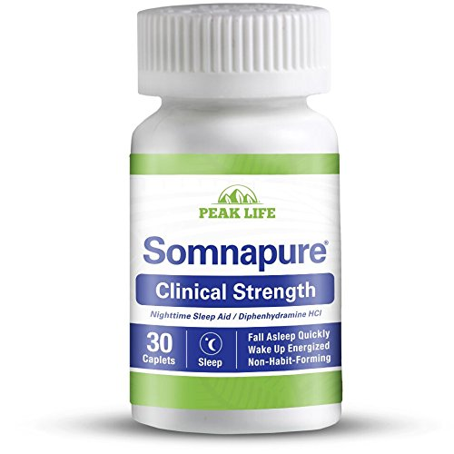 Somnapure Clinical Strength Sleep Aid, 1 Doctor-Recommended Sleeping Pill Ingredient, Fall Asleep