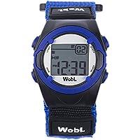 Reloj con alarma vibradora para recordatorios WobL - Blue 8