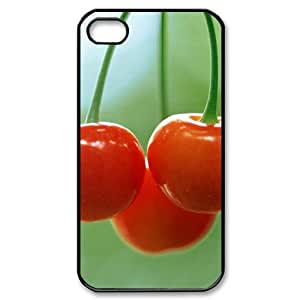 DIYCASETORE Diy Hard Shell Case Cherry Customized Bumper Plastic case For Iphone 4/4s