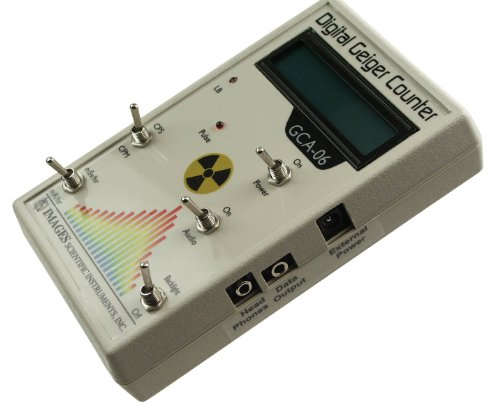 GCA-06 Professional Geiger Counter – Nuclear Radiation Detection Monitor with Digital Meter and Internal GM Tube