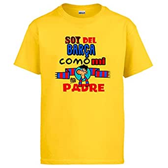 Diver Camisetas Camiseta Soy del Barça como mi Padre Jorge Crespo ...