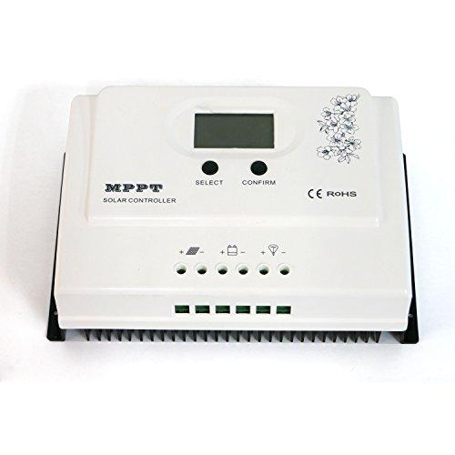 HXENGY MPPT Solar Panel Charge Controller Regulator 12V/24V Maximum PV Input Voltage150VDC(40Amp) by HXENGY