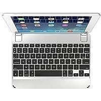 Clavier Bluetooth Brydge 9.7 AZERTY pour iPad 6e génération (2018), iPad 5e génération (2017), iPad 9,7 pouces, iPad Air 1 et Air 2 (argent)