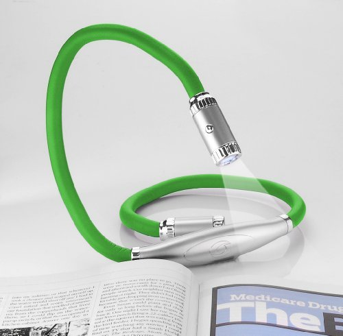 Twist A Lite Hands Free Flexible Light Green by Princess International Tech Tools