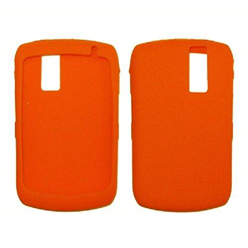 Premium Orange Open-Face Silicone Cover Soft Case Cover for RIM Blackberry Curve 8300/8310 / 8320/8330 [Accessory Export Brand] ()