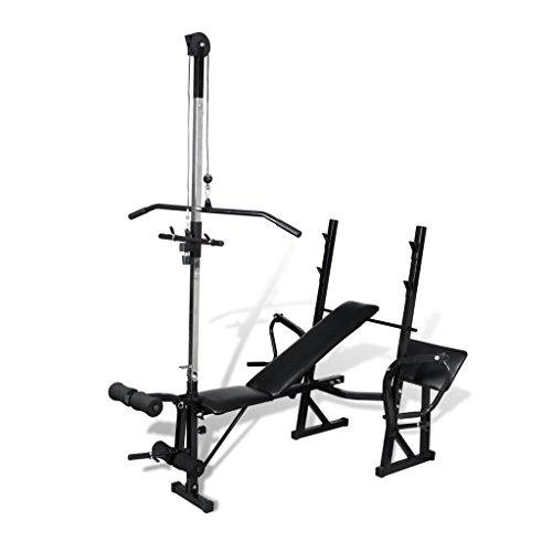 Daonanba Fitness Workout Bench Fitness Useful Workout Bench for Home Gym by Daonanba