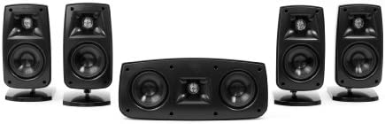 Klipsch Quintet IV Home Theater Speaker System 1010440 Black High Gloss