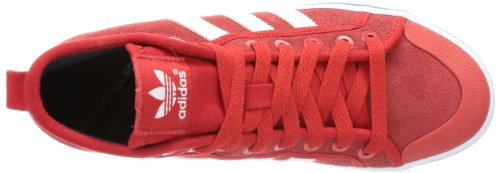 adidas Originals HONEY STRIPES M High Top Womens Red/White tGcHNX3E