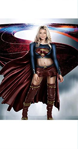 Amazing Melissa Benoist Supergirl Poster  Super High Quality  18 X 24
