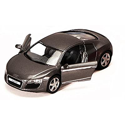 Audi R8, Red - Kinsmart 5315D - 1/36 scale Diecast Model Toy Car