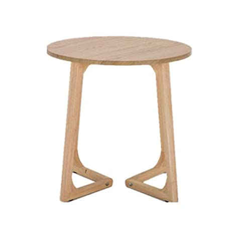 Amazon.com: End Side Tables, Sofa Table, Solid Wood Round ...