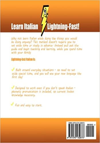 Lightning-Fast Italian for Kids and Families: Learn Italian, Speak ...