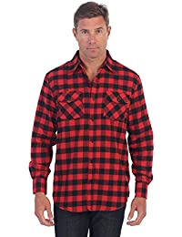 Gioberti Men's Flannel Shirt