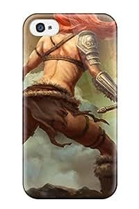 For Iphone 4/4s Tpu Phone Case Cover(diablo Iii)
