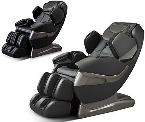 Fitness_Hub A382 | Robotic Zero Gravity | Full Body Massage Chair with | Automatic Massage-Programs | Massage Chair | Recliner with yoga & heating therapy (Black)