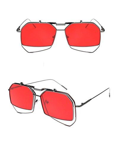 Dames C personnalité Lunettes Soleil Lunettes Couleur A de coréenne Hommes de des la Des soleil Soleil de de lunettes Lunettes Mode xwgpqTvnHP