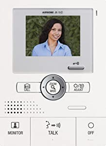 Aiphone JK-1HD Audio/Video Sub-Master Station for JK Series Intercom System from AIPHONE COMMUNICATIONS