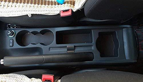 Schwarz szss-car Leder Auto Mittelkonsole Armlehne Box Auto Innenteile Armlehnen Aufbewahrungsbox