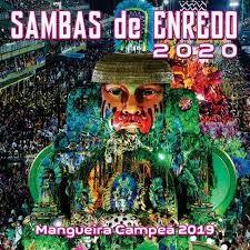 Vários Artistas - Sambas De Enredo Das Escolas De Samba RJ 2020 - CD