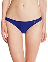 Body Glove Women's Smoothies Basic Bikini Bottom, Midnight, XS