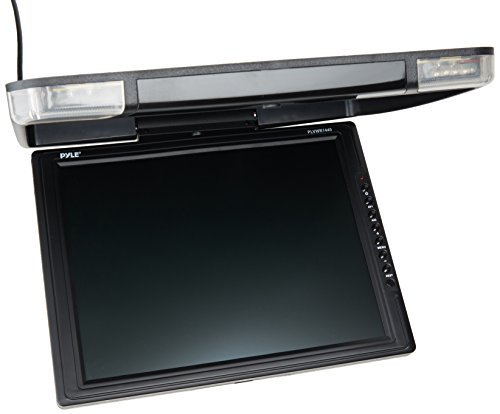 PYLE 14-Inch High Resolution TFT Roof Mount Monitor and IR Transmitter