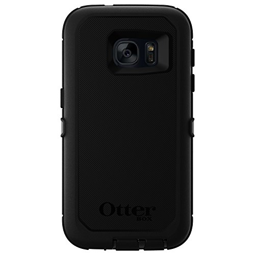 OtterBox DEFENDER SERIES Case for Samsung Galaxy S7 - Retail Packaging - BLACK