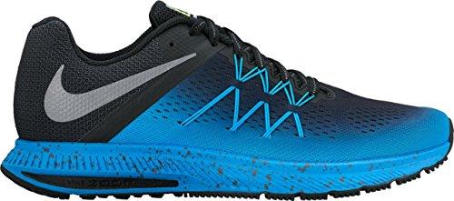 metallic blue Zoom Nike Shield Winflo Black Silver Glo 3 xqXww0Sdg