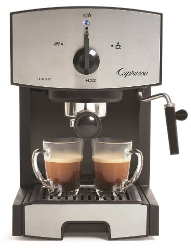 Capresso 117.05 Stainless Steel