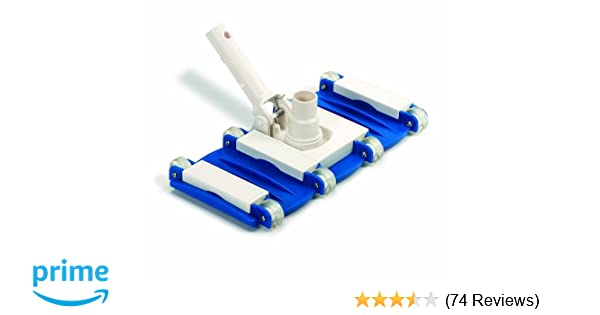 Pool Vacuum Head Weighted Triangle Hydro Tools Bottom Sweeper Cleaning Vinyl
