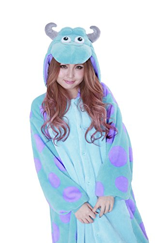 Sulley Kigurumi - Adult Costume (Sully Monster Costume)