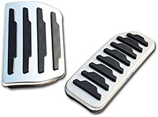 Semoic For Land Rover Discovery Sport For Range Rover Evoque 12-17 Car Fuel Gas Brake Pedal Cover Trim Car Accessories New Arriavls