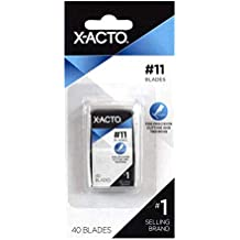X-ACTO #11 Classic Fine Point Replacement Blades, Pack of 40 (X711) (Renewed)