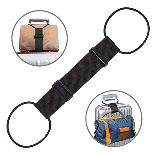 Bag Bungee,Luggage Straps with Adjustable Suitcase Belt,Lightweight and Durable by Besego