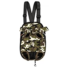 Lan-Pet Legs Out Dog Carrier Shoulder Travel Bag Backpack Front Chest Pack S03 (X-Large, Camouflage)