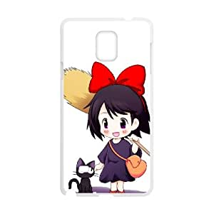 Samsung Galaxy Note 4 Cell Phone Case White Kiki's delivery service 003 VC009029